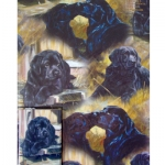 Gift Wrap - Black Labrador Retriever
