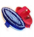 Grippee Over Molded Oval Body Grooming Brush