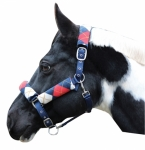 HALTER W/ DETACHABLE VELCRO FLEECE