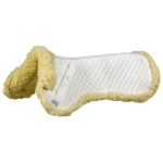 HDR Fleece Wither Half Pad - WHITE