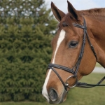 HDR PRO Event Bridle with Rubber Reins