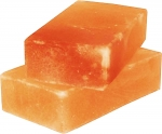 Himalayan Salt Tile 8x4x2 Set of 2 for Grilling, Cooking & Serving