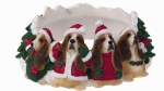 Holiday Candle Topper - Basset Hound