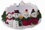 Holiday Candle Topper - Bichon Frise