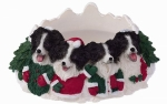 Holiday Candle Topper - Border Collie
