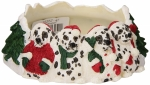 Holiday Candle Topper - Dalmatian