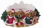 Holiday Candle Topper - Golden Retriever