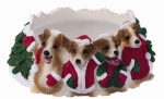 Holiday Candle Topper - Jack Russell
