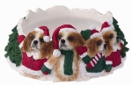 Holiday Candle Topper - King Charles