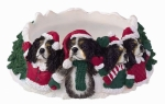Holiday Candle Topper - King Charles Tri-color