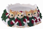Holiday Candle Topper - Orange Tabby