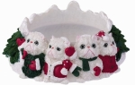 Holiday Candle Topper - Persian Cat