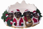 Holiday Candle Topper - Rottweiler