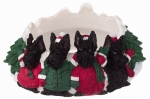 Holiday Candle Topper - Scottie