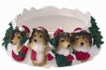 Holiday Candle Topper - Sheltie