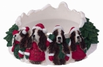 Holiday Candle Topper - Springer Spaniel
