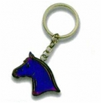Horse Head Mood Key Chain