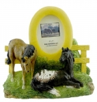 Horse Picture Frame - Buddies