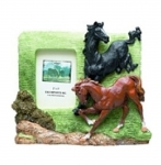 Horse Picture Frame - Dancing Duo