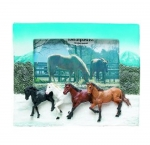 Horse Picture Frame - Horses Running