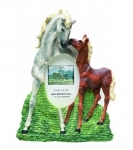 Horse Picture Frame - Mare and Foal