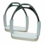 Horse S-Jointed Flexible Stirrup Irons