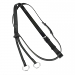 "Horze 1"" Leather Martingale with Stops"
