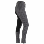 Horze Active check children's fullseat breeches