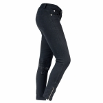 Horze ADA Women's denim breeches with printed kneepatch