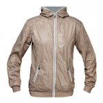 Horze ANNA. Ladies jacket short style, shiny fabric, hood