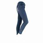 Horze Children denim embroidery breeches