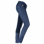 Horze ENYA Women's denim breeches, fullseat