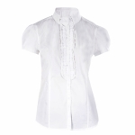Horze FIONA Competition shirt with ruffles