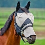 Horze Flymask Flyhood with Nose