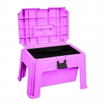 Horze Grooming Box, Stool & Mounting Block