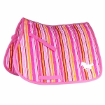 Horze Happy-Go-Lucky Stripes Saddle Pad