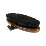 Horze HorZe Natural Hair Medium Deluxe Brush