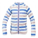 Horze KAI. CHILDREN'S STRIPED SOFT PILE FLEECE JACKET