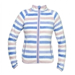 Horze KAI. UNISEX STRIPER SOFT PILE FLEECE JACKET
