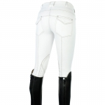 Horze LAUREL, lds breeches with contrast stitc