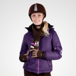 Horze LENA Ladies short down jacket