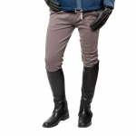 Horze Men's cotton knitted self-patch breeches