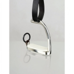 Horze Peacock safety Stirrups, w/ Rubber Donut