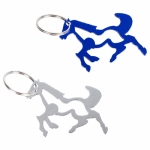 Horze Running Horse Bottle Opener Key Ring