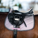 Horze Saddle pad with diagonal quilting