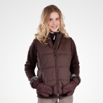 Horze Short winter vest, ladies