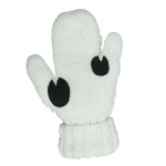 Horze SNOW Cable Knitted 3-Finger Mittens
