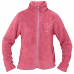 Horze TESSA JUNIOR Junior furry soft pile jacket