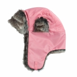 Horze WINDY JUNIOR hat with synthetic fabric & fake fur