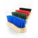Horze Wooden Handle Face Brush